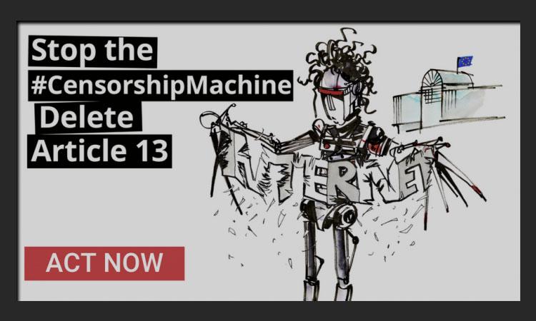تعرف على قانون Article 13 الذي يهدد مستقبل الإنترنت