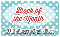 mystery quilt block