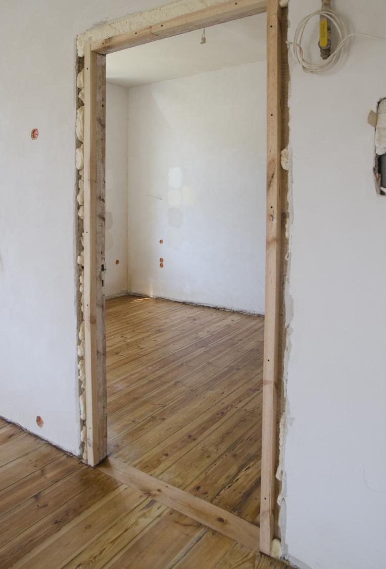 stara drewniana podłoga po renowacji