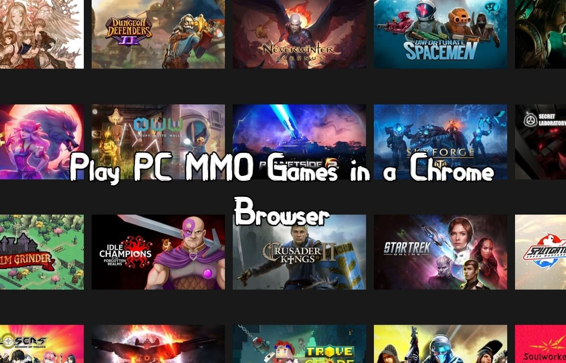 Play PC MMORPG in a Chrome