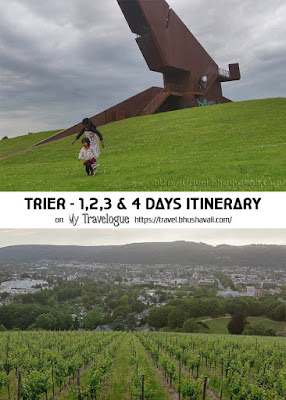 Trier Itinerary Pinterest