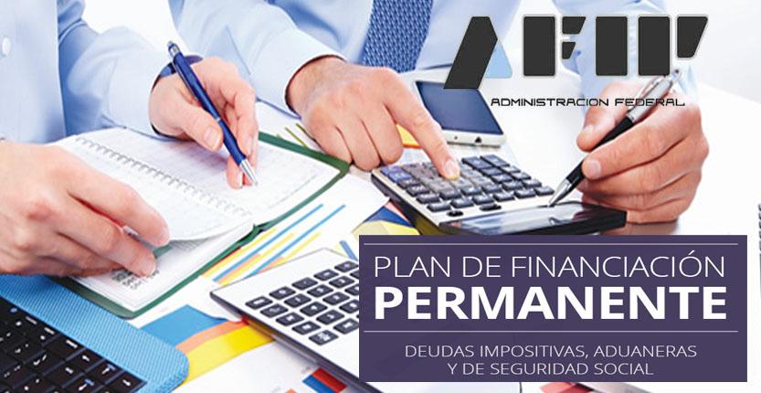 Rg 3827-plan de financiación permanente