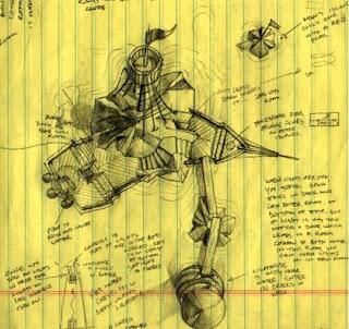 Desarrollo de Myst - arte conceptual