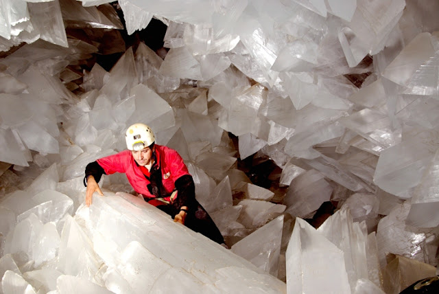 Enormous Crystal Geode Discovered in Spain