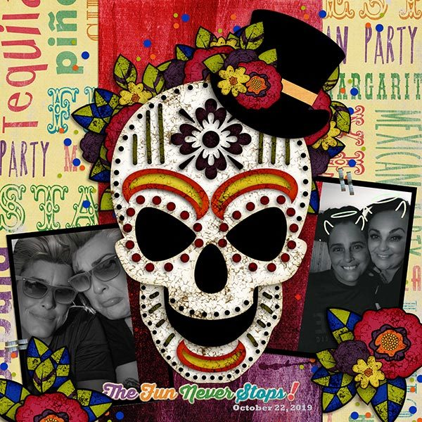 Day of the Dead templates