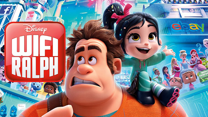 Wifi Ralph (2018) BRRip Full HD 1080p Latino-Ingles