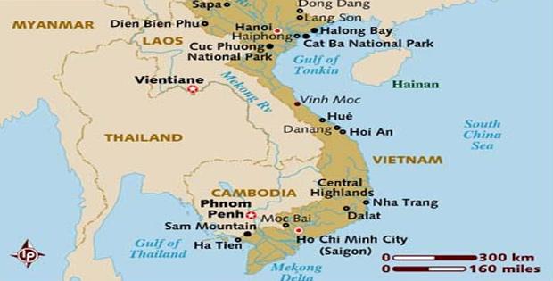 Ketampakan Alam dan Keadaan Sosial Vietnam