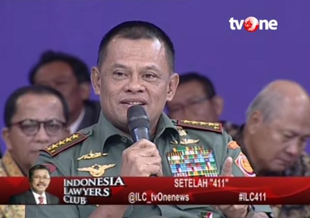 6 Poin Plus Penampilan Panglima TNI di ILC yang Membuat Umat Islam Bangga