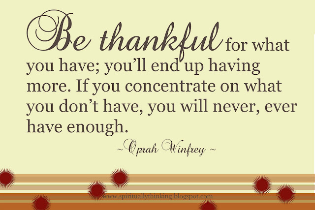 Thankful Quotes: Famous Quotes About Being Thankful. QuotesGram