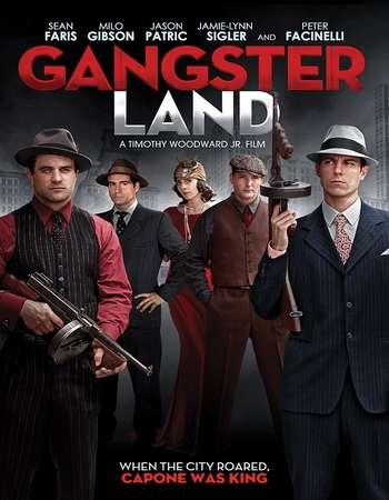 Gangster Land 2017 English 720p Web-DL 700MB ESubs
