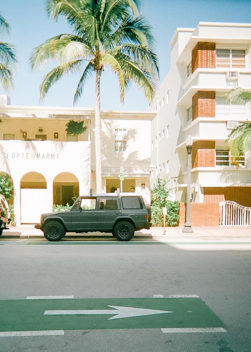 The Stanton Hotel in South Beach Miami