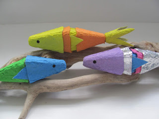 egg carton fish