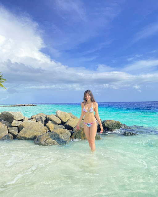 Model Sakshi Malik Latest Bikini Photo Stills At Maldives Actress Trend