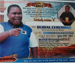 The Burial Date Of A Popular Nollywood Actor Has Been Announced