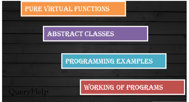 Pure Virtual Functions and Abstracts Classes in OOP