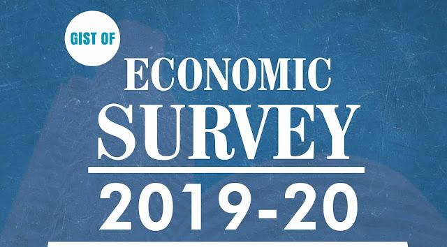 GS Score Gist of Economic Survey 2019-2020