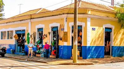 A mercearia da família do Martinho na Rua Padre Bento Pacheco em Indaiatuba.
