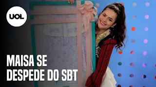 Maisa se emociona em despedida do SBT – Cantor Lulu Santos reclama de comentários maldosos