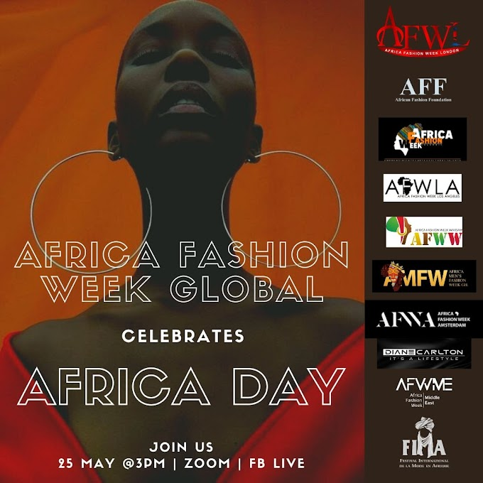 Africa Fashion Week London Celebrates Africa Day With Some Very Special Guests