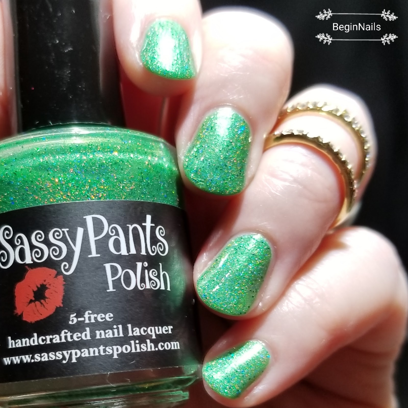 Let\'s Begin Nails: January Monthly Awareness Box Swatch and Review