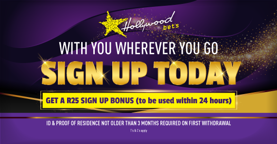 Sign up today and get a free R25 bonus