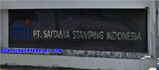 Lowongan Kerja Terbaru Operator Produksi di PT. Saitama Stamping Indonesia