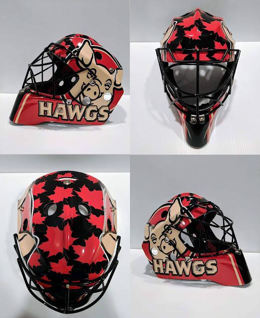Puck Hawgs helmet