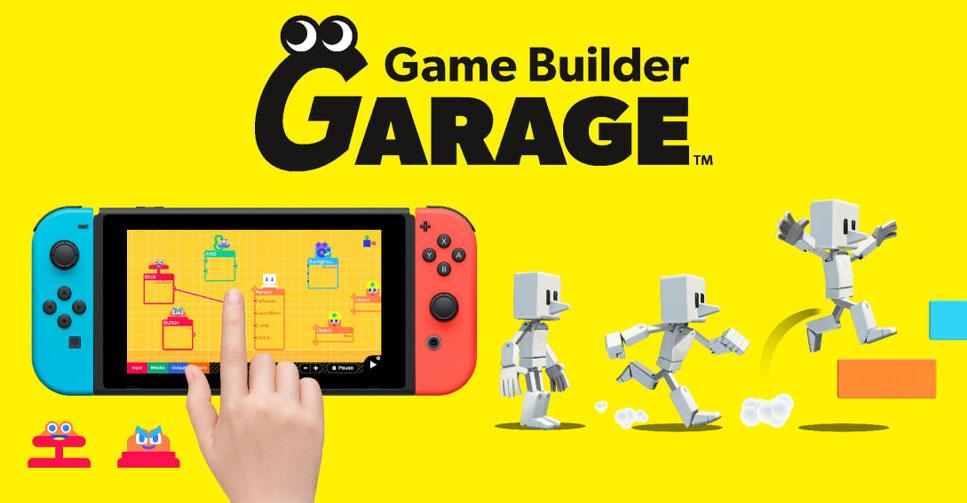 Game Builder Garage (Switch) recebe novo trailer japonês com mais detalhes  sobre o título - Nintendo Blast