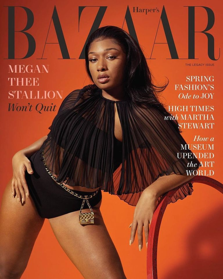 Megan Thee Stallion for Harper's Bazaar US March 2021