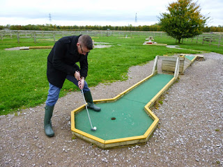 Crazy Golf at Mead Open Farm in Billington, Bedfordshire