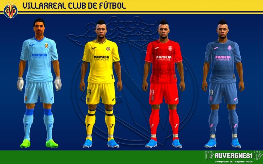 Kits Villareal 2021-2022 For PES 2013