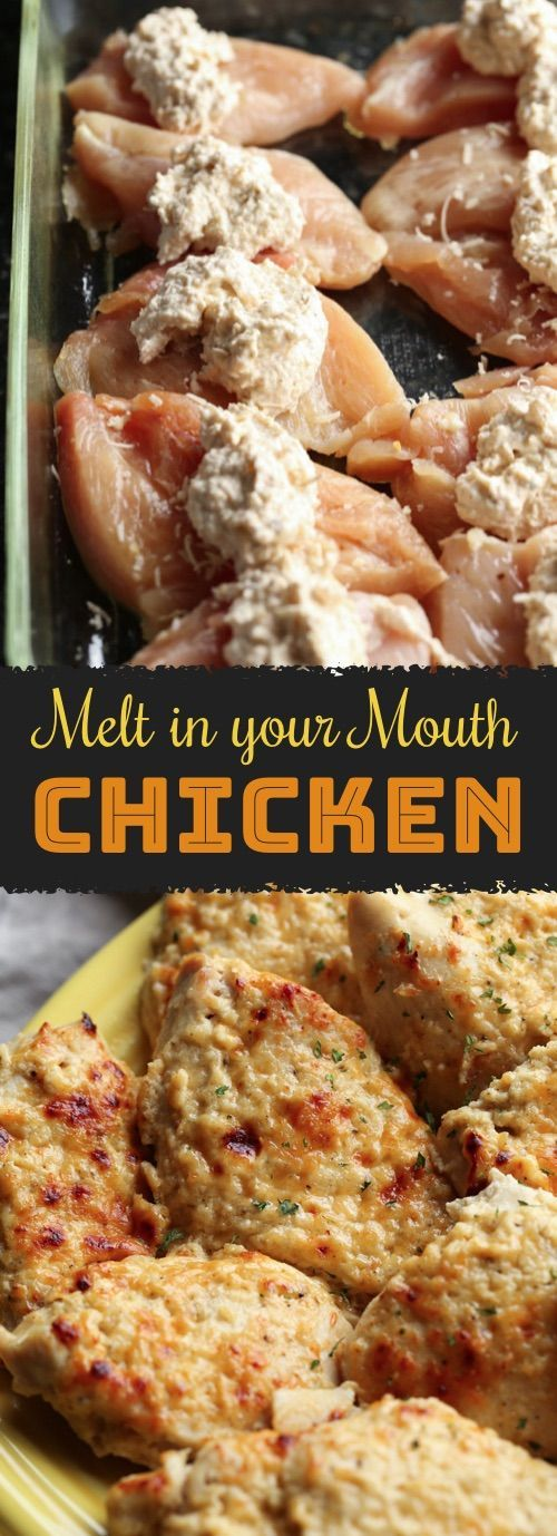 Amazing Melt In Your Mouth Chicken