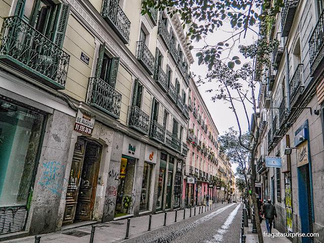 Uma rua de Malasaña