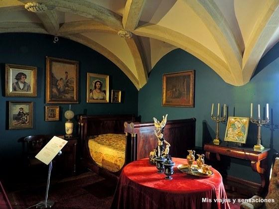 Interior del Palacio da Pena, Sintra, Portugal