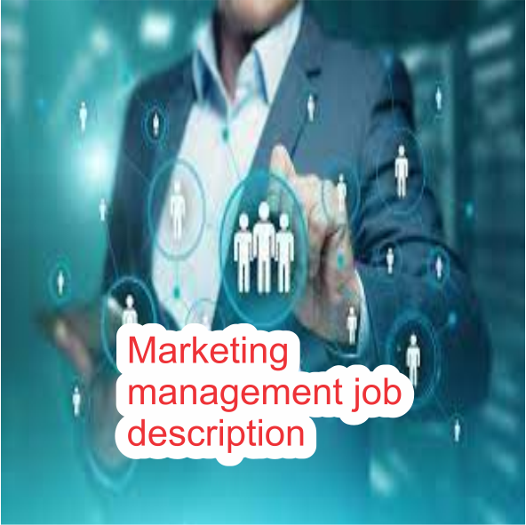 Marketing Management Job Descriptions | with their duties and responsibilities