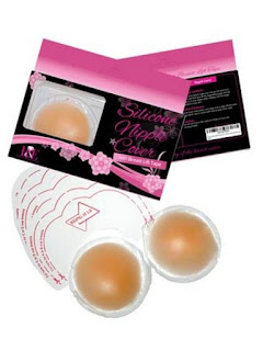 Reusable Silicone Nipple Covers with Breast lift tape