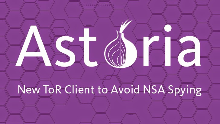 Astoria — Advance Tor Client Designed to Avoid NSA Attacks