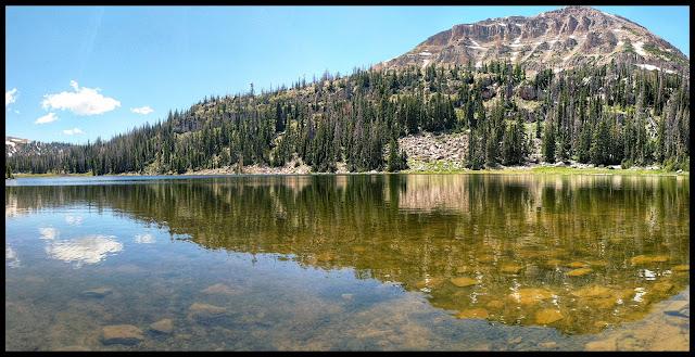 Reflection of Bald Mountain on Moosehorn Lake