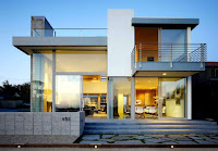 Glass Contemporary Style House Design Bungalow