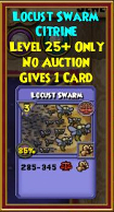 Locust Swarm - Wizard101 Card-Giving Jewel Guide