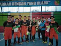 Turnamen Futsal Yang di Gelar GEMAR HIAS Berjalan Sukses