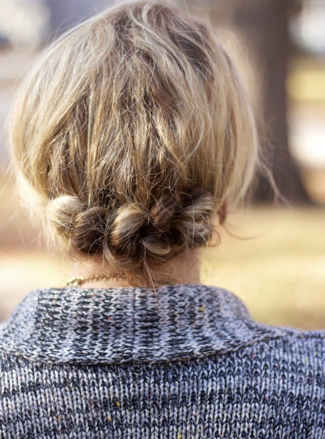 easy updo for holiday party