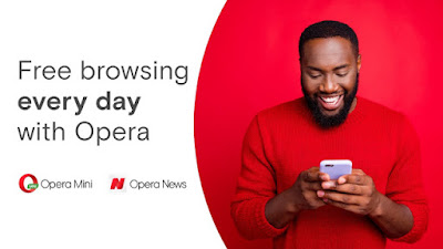 you can now Enjoy Free Browsing on Opera News and Opera Mini Read Articles at No Cost