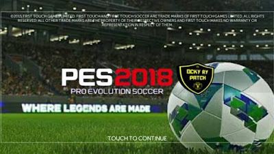 Download Game Fts 17 Mod Pes 2018 Apk + Data Obb Full For Android Terbaru