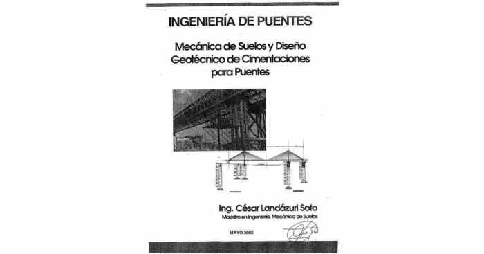 Descargar Ingeniería de Puentes - Cesar Landázuri