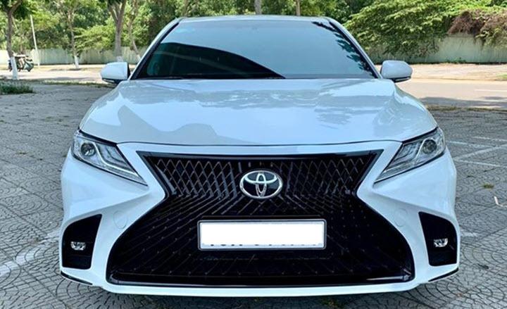 Toyota Camry 2020 lên đời phong cách Lexus tại Việt Nam