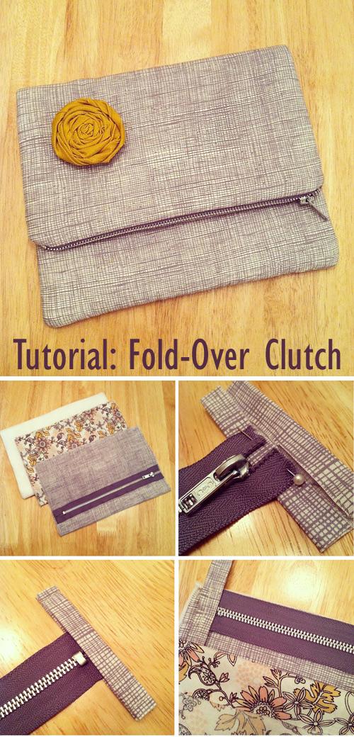 Tutorial: Fold-Over Clutch Bag