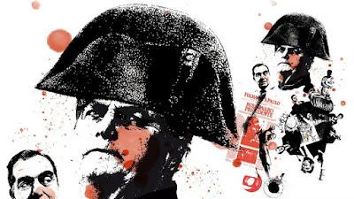 Bolsonaro, ilustração como Napoleão de hospício
