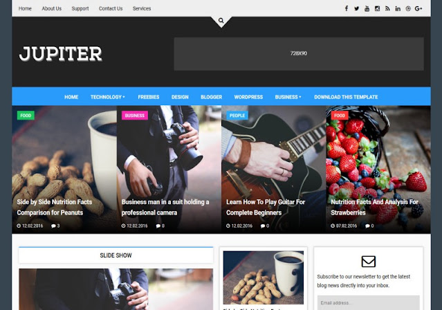 Top 5 Free & Best Blogger Templates in 2021 Don't You Dare To Miss Them { All Free  }