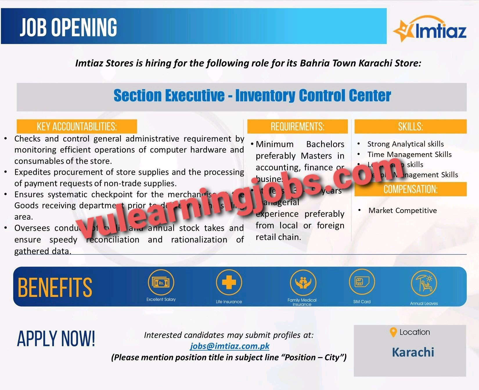 Imtiaz Super Market Jobs In Pakistan May 2021 Latest   Apply Now